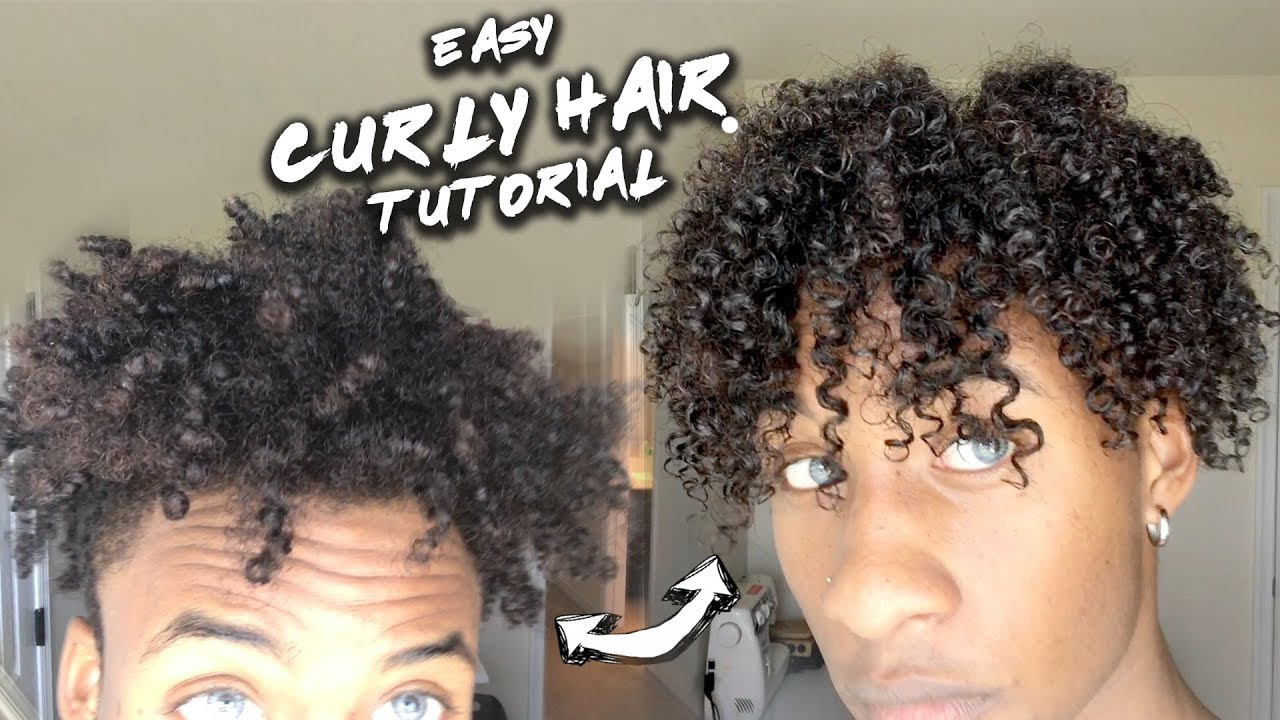How To Get Looser Curls Black Male Jamaican Hairstyles Blog